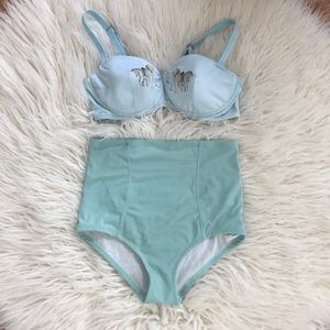 Unicorn Swim Top & Bottom